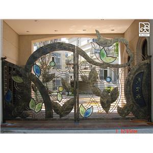 A-入口大門-德義欄杆有限公司-台中