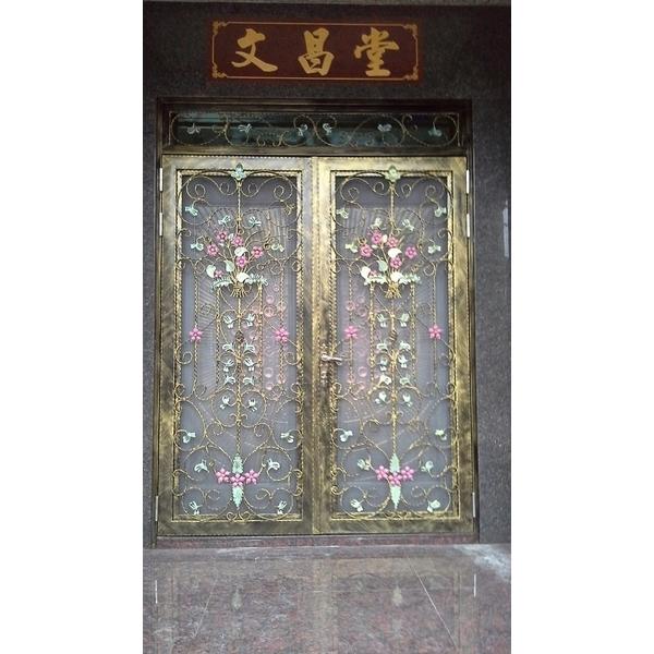 花開富貴純造門