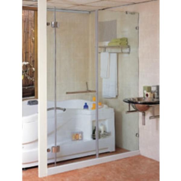 一字型淋浴門 S1-001