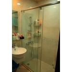一字型無框橫拉淋浴門 S1-013
