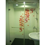 一字型無框橫拉淋浴門 S1-015