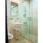 一字型無框橫拉淋浴門S1-007