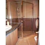 五角型不鏽鋼淋浴門 S5-012
