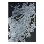 彩雕噴紗玻璃 AA-0018