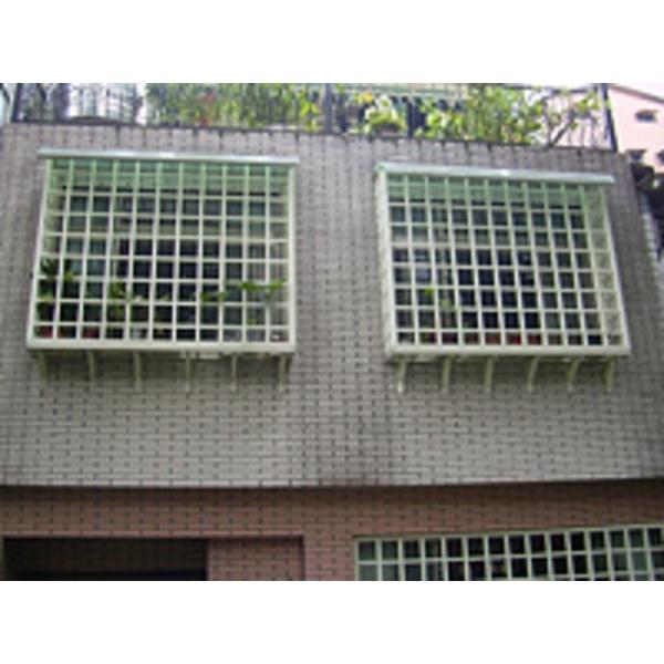 氣密格子凸窗 W1-009
