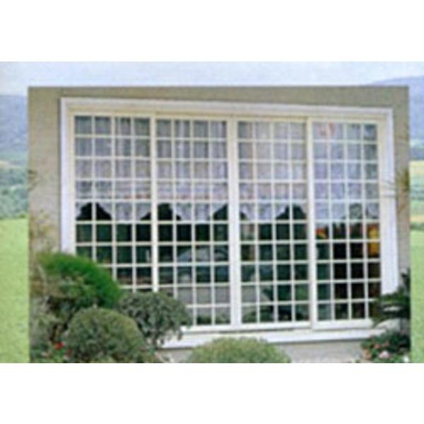 氣密雙層玻璃格子窗 W1-021