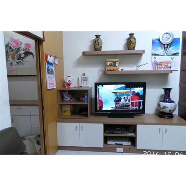 木作電視櫃.層板