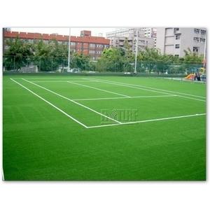 人工草網球場