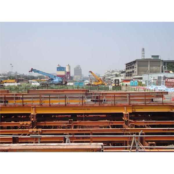 長鴻JV意泰營造-深開挖GL-27M工程-盛隆機械工程股份有限公司-台北