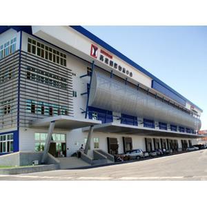 960510陽明海運公司高雄冷涷倉儲物流中心遮陽格柵&沖孔鋼板造型