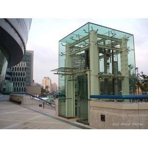 970620漢神巨蛋結構玻璃電梯