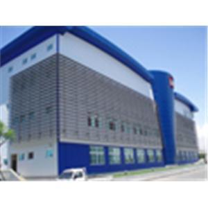 960510陽明海運公司高雄冷涷倉儲物流中心遮陽格柵