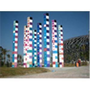 971210世運主場館亞剛亞科夫-和平啟示作品不銹鋼工程