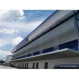 陽明海運公司高雄冷凍倉儲物流中心沖孔鋼板