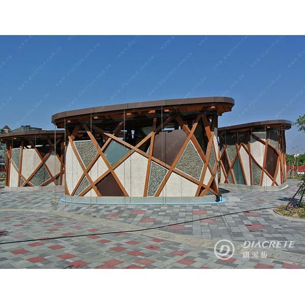 戶外景觀案例-中菱建材有限公司-台北