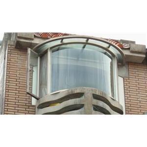 圓弧形景觀窗-秦揚鋼鋁工程有限公司-新北