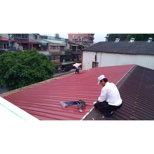 舊鋼板不拆再加蓋工稱-聯亞五金建材行/翊宭工程-新北