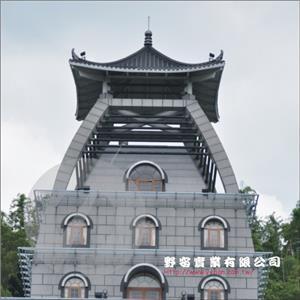 台灣廟瓦加鈦鋅板