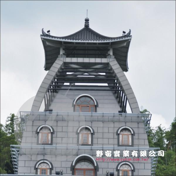 台灣廟瓦加鈦鋅板-野安實業有限公司-台中