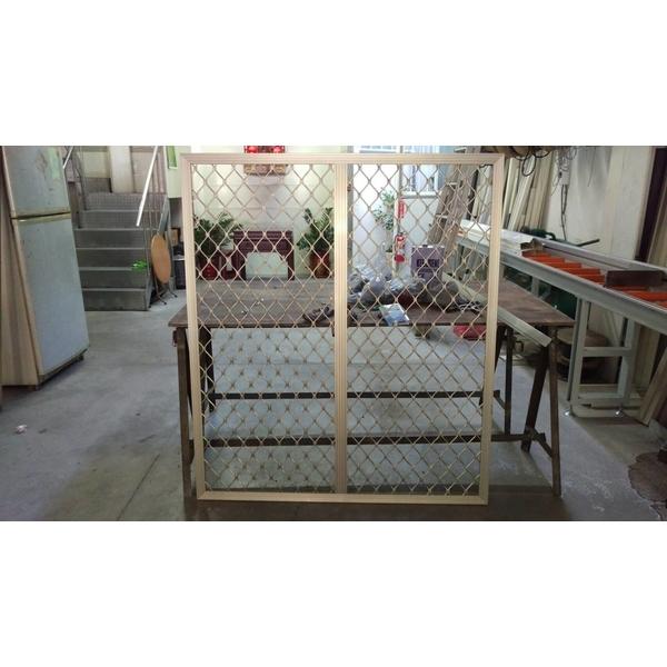 鋁花格防盜窗-平面型-和隆企業社-台中