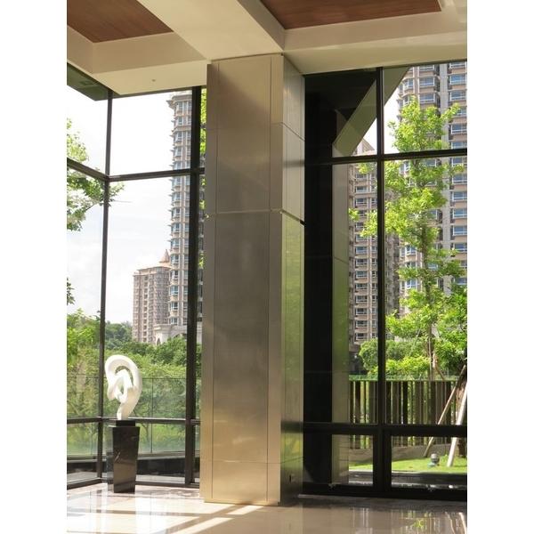 不銹鋼鍍鈦亂紋包柱-鉅鈦金屬有限公司-台北
