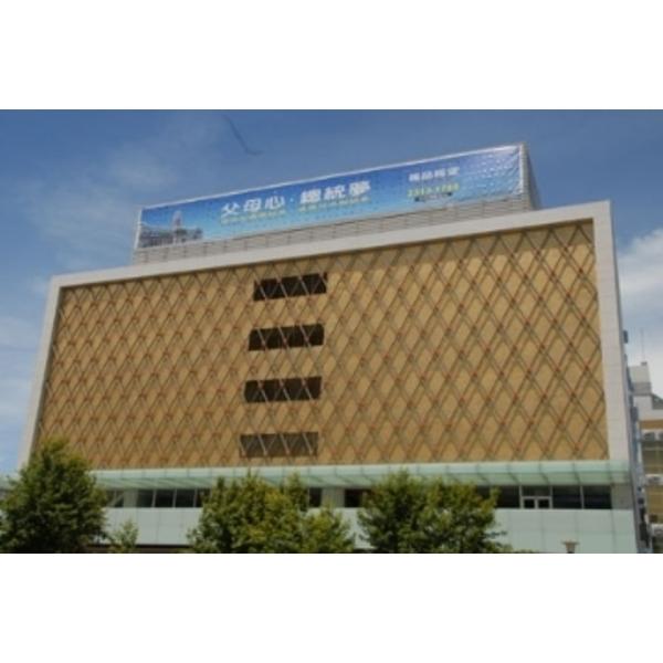 大樓牆面造型框架