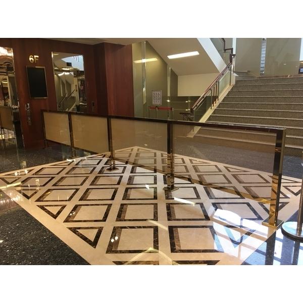 星聚點西門店 5樓鍍鈦欄杆