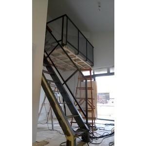 鐵梯+擴張網扶手1.