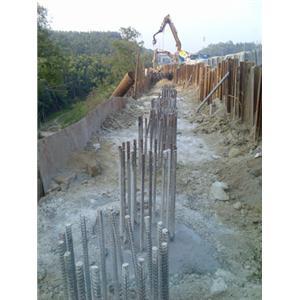 關廟休息站擋土牆工程