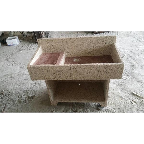 抿石子洗衣台-廣昇安企業社-台南