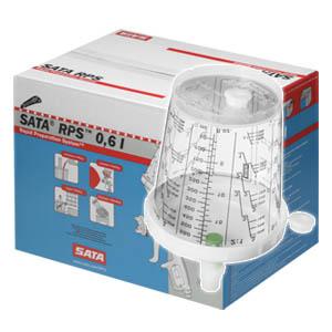 SATA RPS 600ml 通用型/拋棄式噴杯/噴漆/調色/密封/耗材