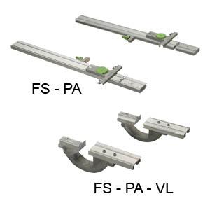 FS-PA 平行檔板/快速裁切系統/導板配件