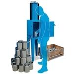 鋼鐵人 / 氣壓式壓罐壓紙機 101 含腳架