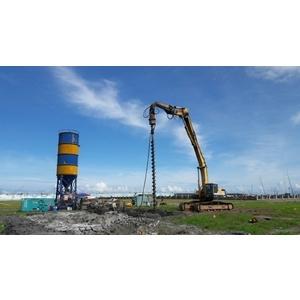 全弧低壓地質改良攪拌樁