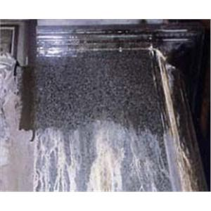 在大理石表面塗刷Maxurethane-2C(施工完成)