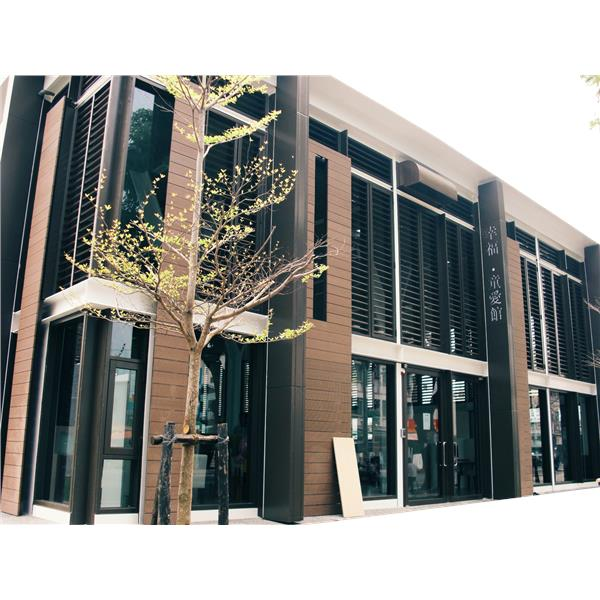 外牆塑木牆板工程-台灣楓葉塑膠有限公司-高雄