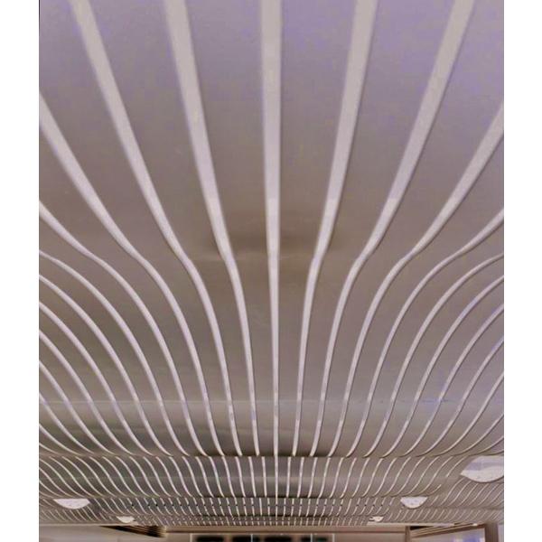 波浪造型鋁天花板-璨鋒陞企業有限公司-新北