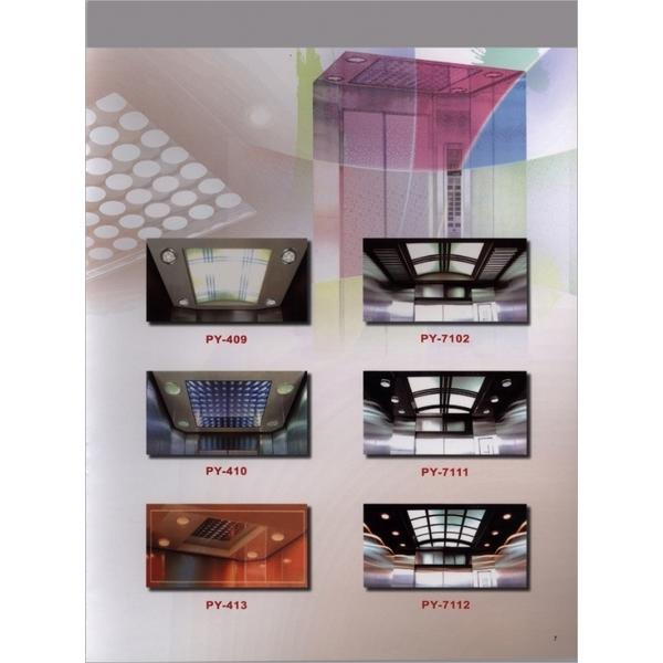 車廂天花板造型-3