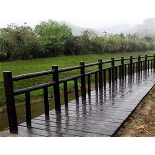 仿櫟木欄杆-晨陽綠建環保資材-南投