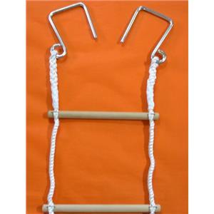 繩梯-圓木棍