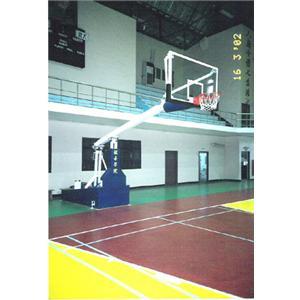 彈簧式籃球架-運杰企業有限公司-台中