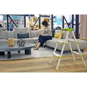 大阪舒適梯(椅凳)-日式抹茶綠-巧登欣實業股份有限公司-彰化