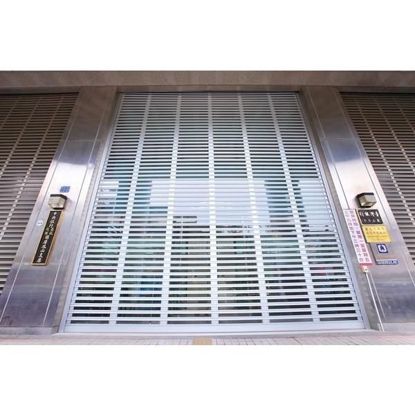 鋁合金玻璃電動捲門 (1)-穩揚金屬企業有限公司-高雄