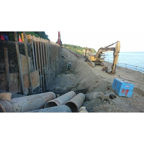 鋼板樁施工-益利欣企業/安順開發工程有限公司-台南