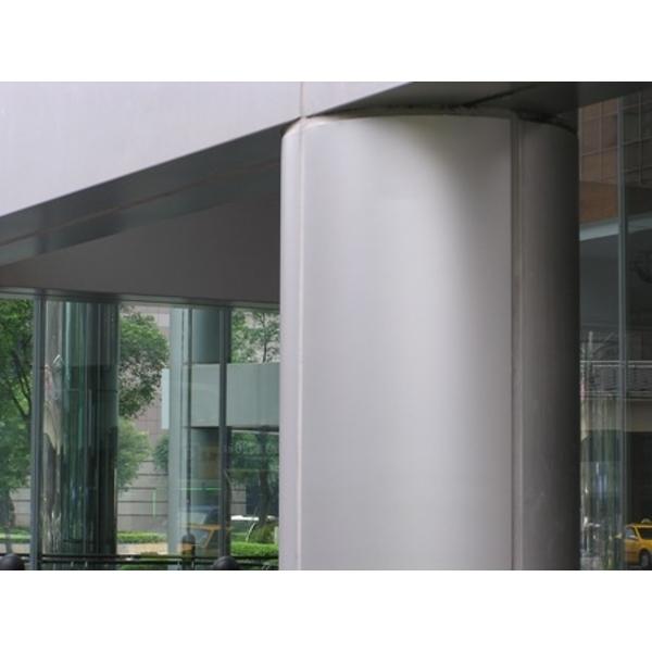 外牆漆版再生-大門圓柱施工後