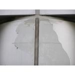 外牆漆版再生-大門圓柱施工前