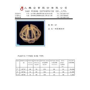 球型填充材-三鵬企業股份有限公司-苗栗