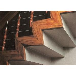 水泥樓梯-木紋烤漆
