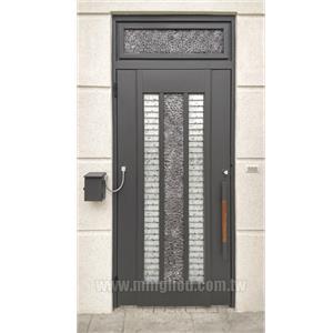日式鑄鋁造型圍牆門