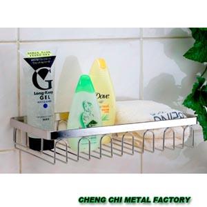 浴室置物架-成志金屬廠-宜蘭